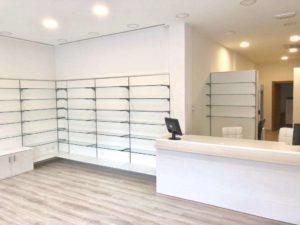 Arredamento farmacie e negozi