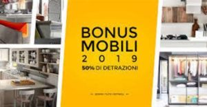 Offerte: bonus mobili 2019 50% detrazioni